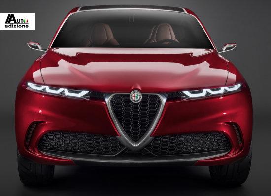 Alfa Romeo met productieversie Tonale en concept B-UV naar Genève