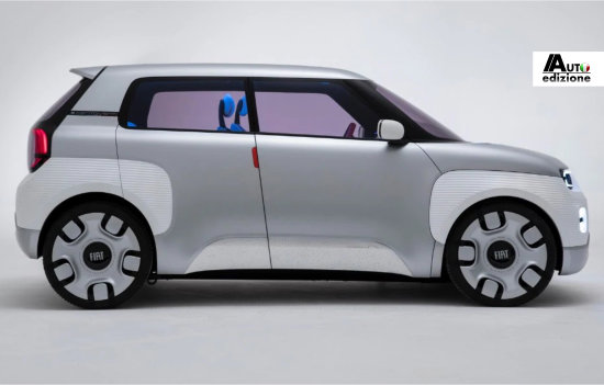 Fiat presenteert in 2023 de nieuwe Panda