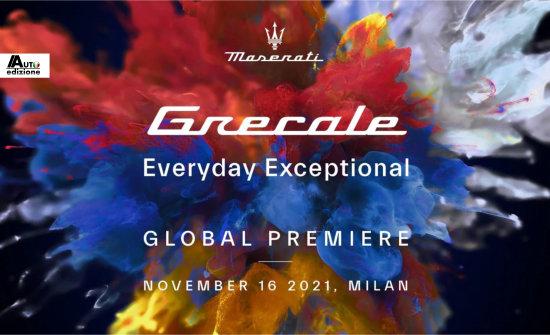 Onthulling Maserati Grecale 16 november in Milaan